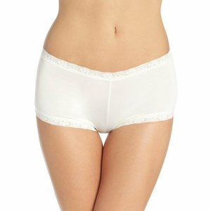 Maidenform Microfiber Lace Trimmed Boyshort 40760